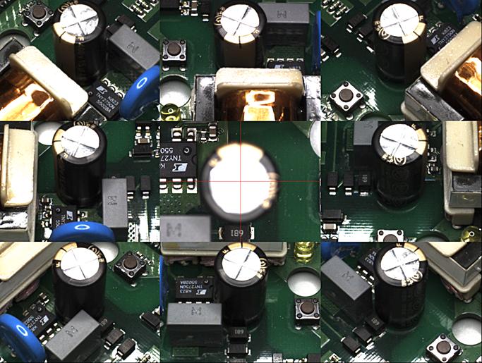 Screen shot from Mek SpectorBOX Modular AOI systems