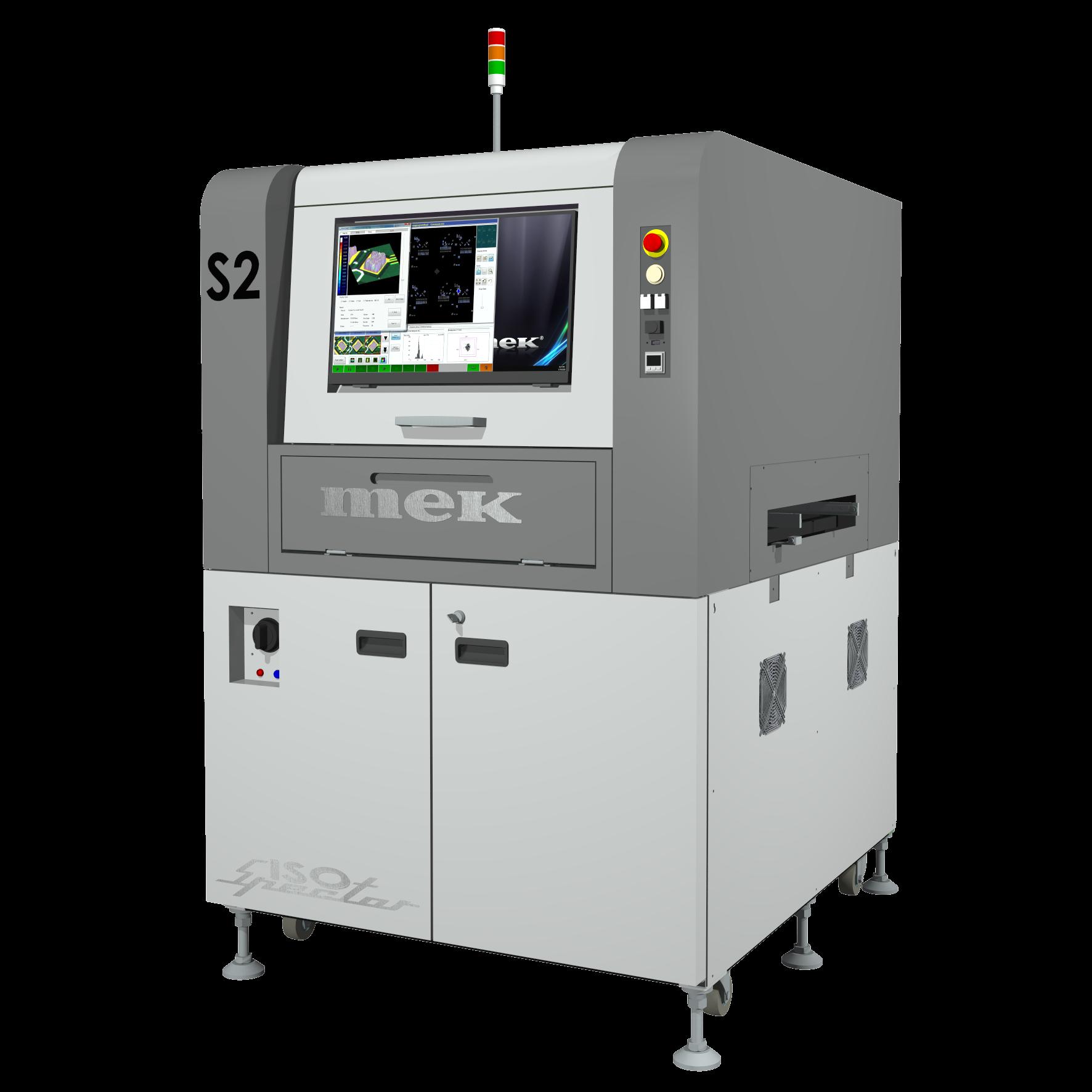 ISO-Spector S2 SPI machine
