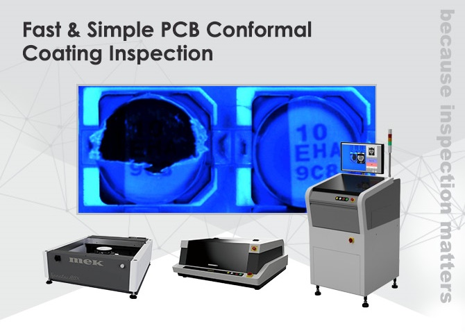 Conformal coating inspection