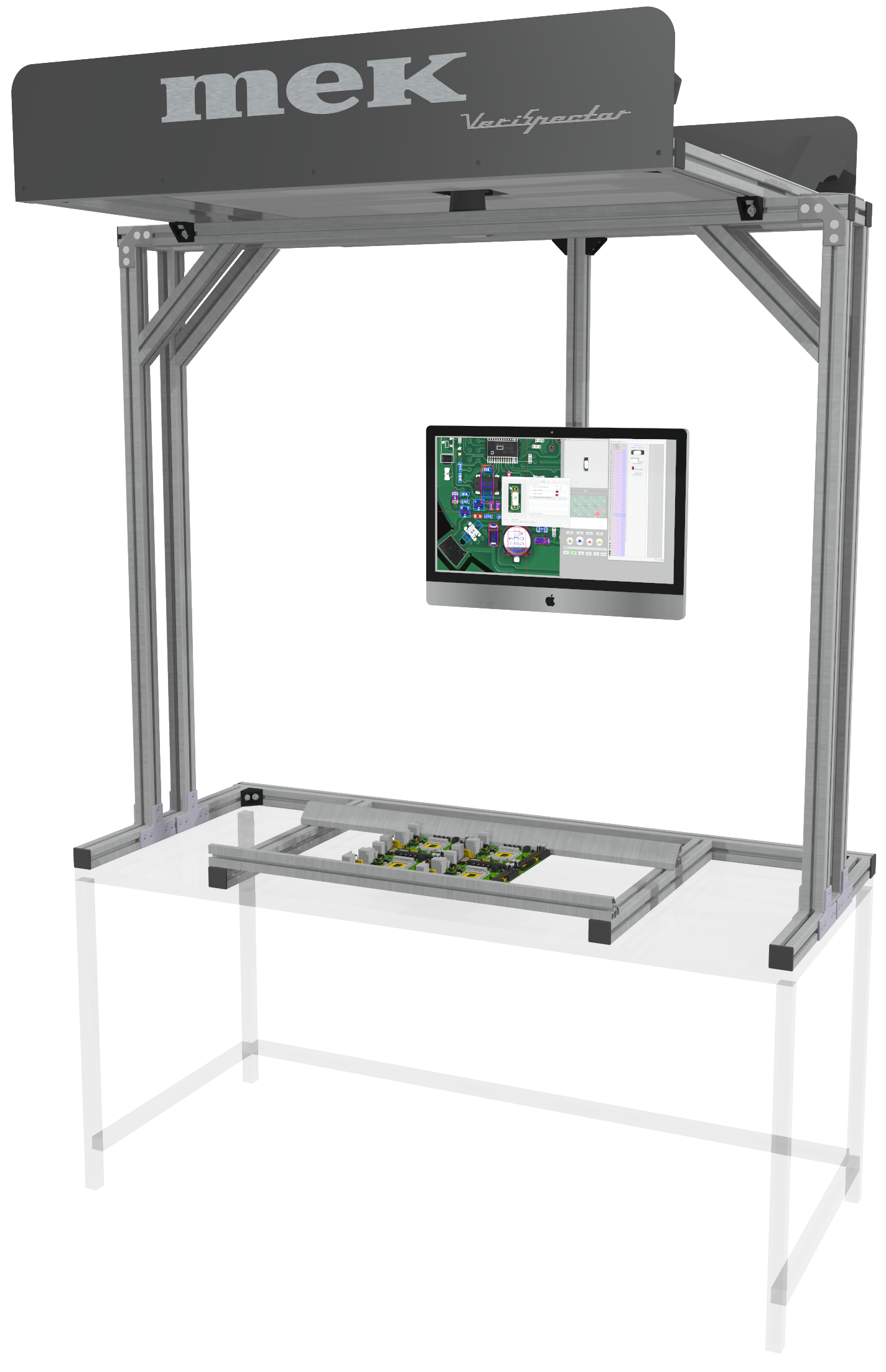 VeriSpector manual assembly station AOI